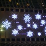 Decoración de Navidad artificial Luz del copo de nieve