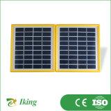 Миниая панель солнечных батарей для малой панели солнечных батарей портативная пишущая машинка дома 3.4W
