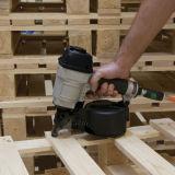 Clou de bobine de partie lisse de vis pour la construction et l'emballage