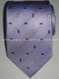 Cravate du jacquard tissée par soie des hommes faits sur commande