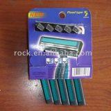 Doppelblatt-wegwerfbares Rasiermesser (KD-52007L)