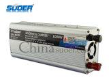 Suoer zwei in einem Gleichstrom 1000W Energien-Inverter zum Wechselstrom-12V mit Aufladeeinheit 10A (SAA-1000C)