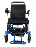 Cadeira de rodas elétrica Foldable do curso das pessoas idosas