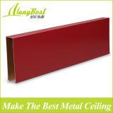 Decorazione di alluminio alla moda del soffitto del ristorante