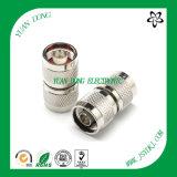 Conector de CATV N macho a conector macho Fabricación en China