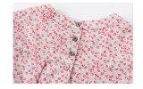 Le coton 100% badine les vêtements courts de filles de chemise de T-shirt