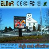 Placa de tela ao ar livre do diodo emissor de luz P8 da cor cheia de HD