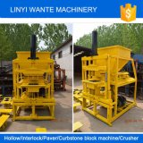 Le double des machines Wt2-10 de Wante bloque la machine de effectuer de brique d'Eco