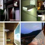 Da lâmpada infravermelha da segurança do jardim do sensor de movimento da energia PIR da potência solar do diodo emissor de luz da geração nova 16 luz ao ar livre