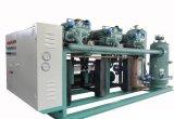 Unità semiermetica del compressore per refrigerazione di temperatura insufficiente