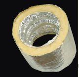 Aluminiumflexible Leitung der isolierungs-(Nichtisolierung) für HVAC-Ventilations-Luftkanal