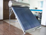 Circuito de agua del calor solar del tubo del vidrio de tubo 20 con el certificado del Ce