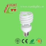 Halbe energiesparende Lampe CFL der Spirale-T2-25W