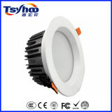 diodo emissor de luz Recessed 12W opcional Downlight do teto de 3000-6500k Dimmable