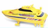 Preiswertes Nqd 1/25 weißes gelbes Fernsteuerungsboots-Modell der Lieferungs-RC