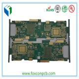 TVのためのプリント基板を対処するPCBの製造業者のインピーダンス制御LfHASL表面