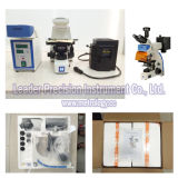 Microscópio de fluorescência rotineiro manual de Trinocular (LF-302)