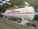 Toneladas 25 de Cbm ASME LPG de la fábrica 12.5 de estación al por menor estándar de los patines para el gas del LPG