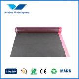 Arpillera de la alfombra de la espuma de EVA para los suelos de madera dura laminados, dirigidos