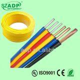 La iluminación de la potencia del alambre del cable eléctrico 300/500V del IEC 05 (BV) extiende el cable flexible