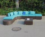 Neue im Freiengarten-Möbel-modernes Weidensofa der Art-C-2016
