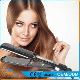[لكد] عرض شعر خزفيّ كهربائيّة يقوّم بخار شعر مسطّحة حديد شعر مقوّم انسياب