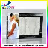 Rectángulo de papel de empaquetado del cosmético de calidad superior con la ventana clara