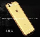 La cubierta/las cajas móviles transparentes más baratas del teléfono celular de China TPU para el iPhone