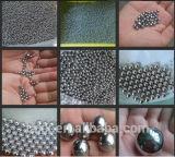 Boule en acier de meulage de valve d'injection de boule de roulement à billes de massage de boule d'acier inoxydable de boule