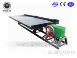 Schwerkraft-metallisches Erzaufbereitung-Geräten-Goldförderung-Maschinen-Gold, das Tisch rüttelt