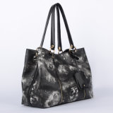 새로운 형식 구름 곡물 디자인 숙녀 핸드백 (WT0012-1)