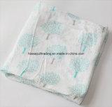 De super Zachte Omslag van de Mousseline 30%Cotton van &Smooth 70%Bamboo wikkelt in. 120X120cm