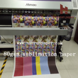 Price non Xerox 70/80GSM Sublimation Heat Transfer Paper Roll Size