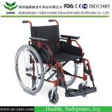Behinderte verwenden Typen manuellen Aluminiumrollstuhl