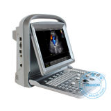 Ultrason vétérinaire portatif de Doppler de couleur (DopScan E5V)