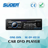 Suoerの高品質車のDVDプレイヤー1 DIN車のCE&RoHS (SE-DV-8518)の可聴周波ビデオDVDプレイヤー