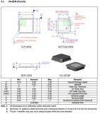 Интегрированный приемопередатчик IC LAN8720ai локальных сетей - цепь