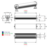 1200mm 4ft 40W 50W IP65 Tri-Beweis industrielles LED Licht