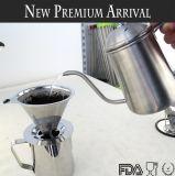 Dripper кофеего медной плиты нержавеющей стали