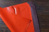 De rode Cuatomizable Afgedrukte Plastic Zak van de T-shirt
