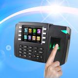 Impressão digital biométrica e de cartão de RFID comparecimento do tempo com identificação (TFT600/ID)
