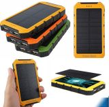 10000mAh Solar Portable Power Phone Charger para Cell Phone