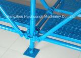 Construction D'échafaudage de Ringlock Enduite par Poudre Utilisée
