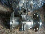 Válvula de esfera do aço inoxidável com a extremidade da flange para a válvula flangeada (Q41)