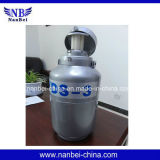 el tanque biológico transportable del nitrógeno líquido del almacenaje 3L