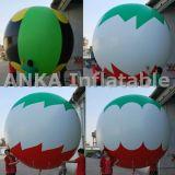 2mの印刷されたロゴの膨脹可能なヘリウムの気球