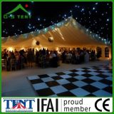 10X30mの結婚披露宴のための白い防水贅沢な玄関ひさしのテント