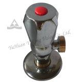 Válvula de ângulo de bronze forjada para o fornecedor (YD-C5025)