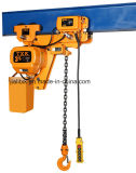 3ton 1/1 Deux-vitesse Electric Chain Hoist avec Electric Trolley