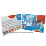 Brand Promotion, Advertizing, Greetng Card (ID7001)를 위한 LCD Video Card Brochure